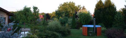 Malebná záhrada inšpirácia