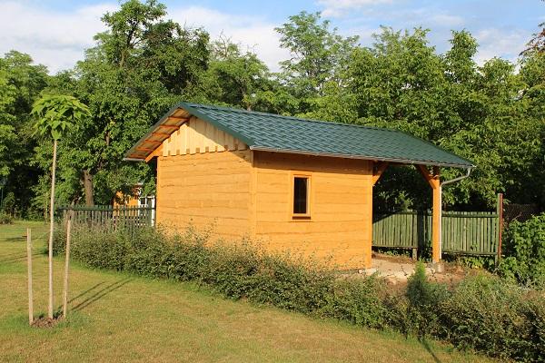Saunový domček